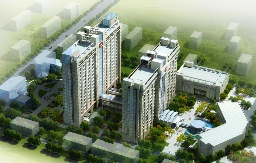 陕西省宝鸡市中心医院使用景泰源LED平板净化灯