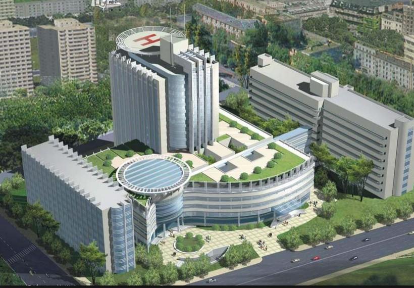杭州市第一人民分水镇分院使用景泰源LED平板净化灯