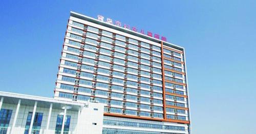 青岛市妇女儿童医院使用景泰源LED平板净化灯