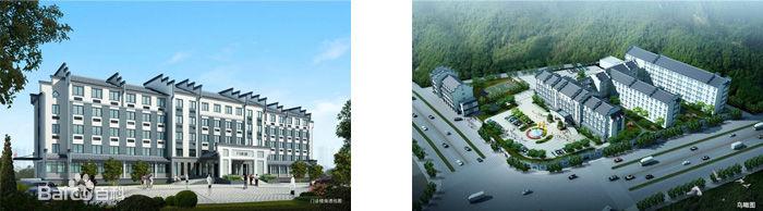 江西-婺源县中医院使用景泰源LED平板净化灯