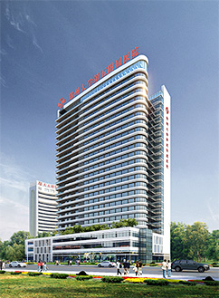郑州市二七区郑州大学第五附属医院使用景泰源LED平板净化灯
