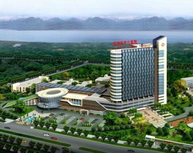 重庆-江津区中心医院使用景泰源LED平板净化灯