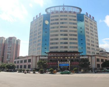 四川省射洪县中医院使用景泰源LED平板净化灯