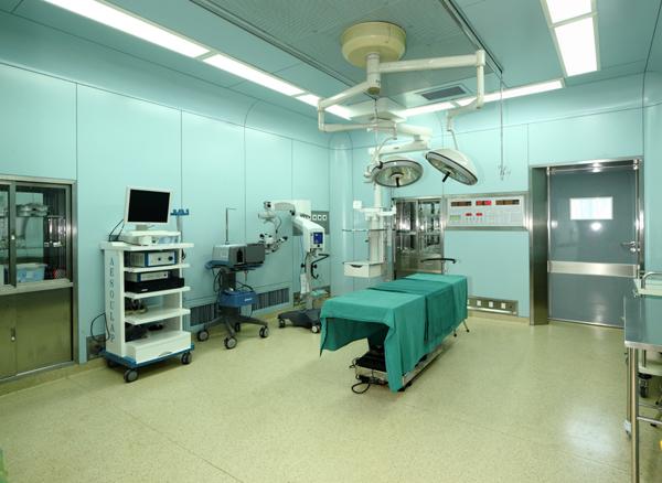 无锡市金瞳眼科医院使用景泰源LED净化灯