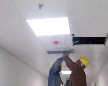 广西邦琪药业有限公司使用景泰源LED净化灯